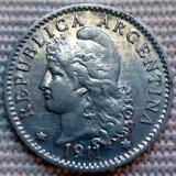 Argentina Moneda 5 Centavos 1911 ¡¡sin Circular Brllante!!