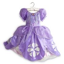 Fantasia Princesa Sofia Vestido Disney Store Original 3 4 78