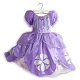Fantasia Princesa Sofia Disney Store Original Pronta 3 7 8