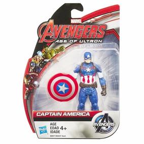 Boneco Capitao America Era De Ultron Hasbro