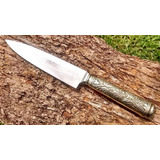 Cuchillo Arbolito Antiguo Alpaca Solingen Boker 12cm