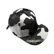 Boné Camuflado Urbano - Ajustável Airsoft Paintball