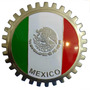 Auto Antiguo Emblema Mexico