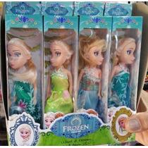 Kit Atacado 12 Mini Bonecas Frozen Elsa E Anna Brinquedos