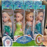 Kit Atacado 24 Mini Bonecas Frozen Elsa E Anna Brinquedos