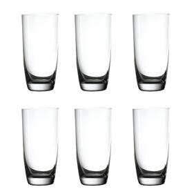 Juego 6 Vasos Cristal Multiples Usos Prinz