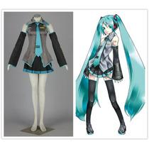 Cosplay Miku Hatsune Inspirado En Vocaloid