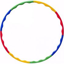 Bambolê Desmontável 90 Cm Exercícios Colorido Liveup