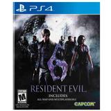 Juego Ps4 Capcom Resident Evil 6 Remasterizado
