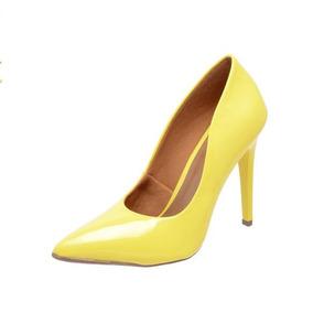 Sapato Scarpin Factor Fashion - Salto Alto