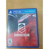 Drive Club Para Ps4 Como Nuevo