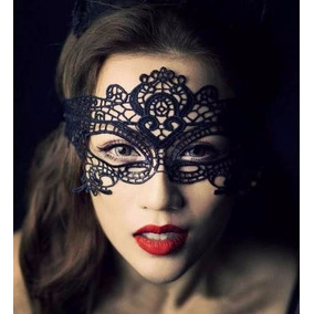 Antifaz Encaje Disfraz Sexy Mascara Mujer Cara Fiesta Ee