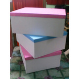 Caja Carton Rigido Forrada 50x40x20