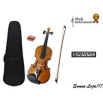 Violino Infantil Dominante 1/2 - 3/4 Web Instrumentos