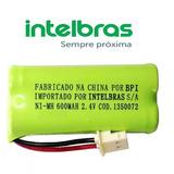Bateria Telefone Sem Fio Intelbras Ts 40 Id E Se - Original