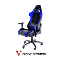 Cadeira Gamer Thunderx3 Gaming Black Blue - Tgc-15