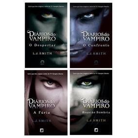 Kit Livros - Coleção Diários Do Vampiro (4 Livros)