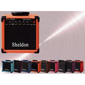 Amplificador Sheldon Para Guitarra Gt 1200 Super Barato