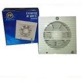 Extractor De Aire 6 Fp Plastico Para Empotrar Con Sensor