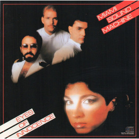 Miami Sound Machine Eyes Of Innocence Usa Cd Cbs 1984 !