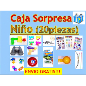Juguetes Regalos Caja Sorpresa Niño Fiesta 20 Pzas + Envio