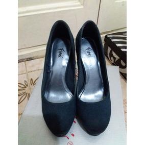 Hermosos Zapatos Azul Traidos De Panama