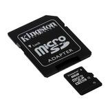 Tarjeta Memoria Kingston Microsd 8gb Micro Sd Tablet Camara