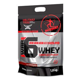 War 6 Complex Protein - 1,8kg Chocolate Midway Labs