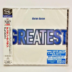 Duran Duran Greatest Japon Re. Edición 2018 19 Temas Nuevo