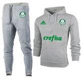 c3b68498f7 Kit Moletom + Calça Palmeiras Futebol Blusa Academia Casaco
