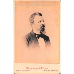 Cabinet Portrait Do Conde D´eu (1870 C.)