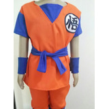 Fantasia Goku Dragon Ball Z Infantil!!!!