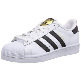 Stock Permanente! adidas Superstar Originales Blanca Y Negra