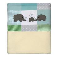 Manta Polar - Patch Elefantes -