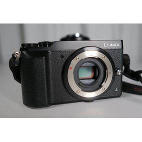 Camera Panasonic Lumix Gx80 Video 4k 30fps Só Corpo = Gx85