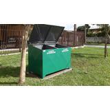 Container Para Lixo 1,00 X 0,85 Cm Ou 800 Ltrs (curitiba )pr