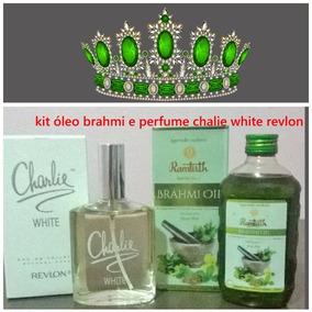Óleo Brahmi + Perfume Charlie White Revlon + 1 Brinde