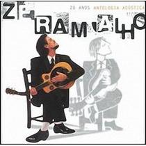 Cd Zé Ramalho - Antologia Acústica 20 Anos Duplo (lacrado)