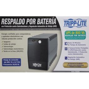 Ups Tripplite® 800 Va No Break Respaldo De 30 Mins 400 Watts