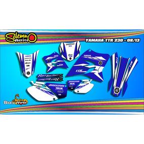 Kit Calcos Yamaha Ttr 230 Sport Laminado 3m Estandard