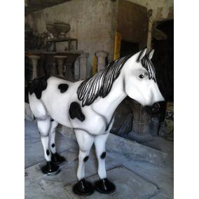 Escultura Cavalo Ponei Fibra De Vidro