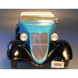 Ford 1934 - V8 - Hot Rod - Custom Conversivel - Schuco 1:24
