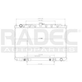 Radiador Nissan Maxima 2002-2003-2004 V6 3.0/3.5 Lts Auto