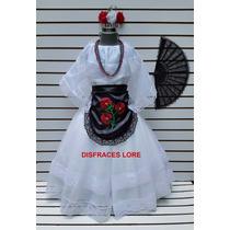 Vestido Disfraz Vestuario Regional Tipico Veracruz Jarocha