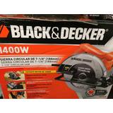 Sierra Circular 7 1/4 Black&decker 1400w