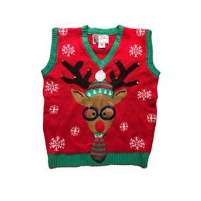 Ugly Sweater Suéter Chaleco Navideño