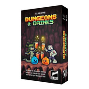 Juego De Mesa - Dungeons And Drinks Juego Julian Chab - Buro