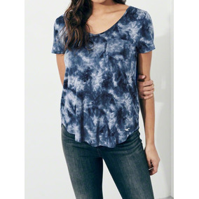 Camiseta Hollister Feminina - Malha Fria - 100 % Original f74124ba1b3