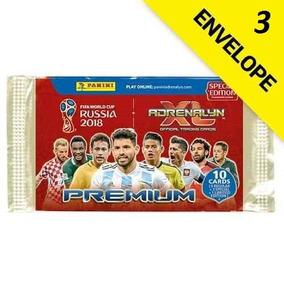 Cards Da Copa Russia 2018 Premium Adrenaly Xl Kit Com 3 Env