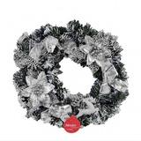 Guirlanda Laços/flores/rena De Natal 40cm Ref:5590301